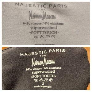 Majestic Tops - BUNDLE MAJESTIC PARIS SLEEVELESS CREW SHIRT